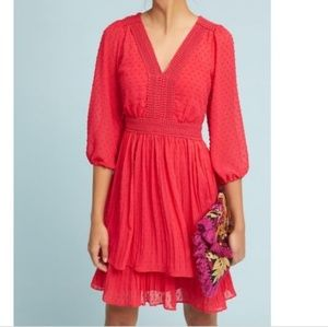 Anthropologie Meadow Rue minetta tiered dress!